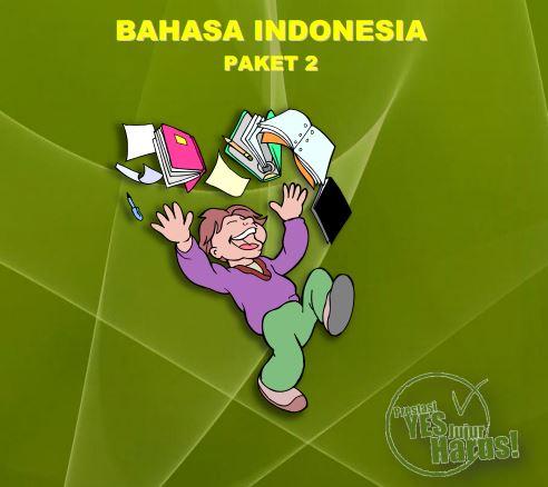 Kumpulan Soal Sukses UN SD Bahasa Indonesia Paket 2 dan Jawaban