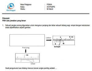 Download Prediksi soal UN SMA Fisika IPA Paket A Terbaru