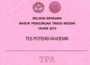 download soal sbmptn 2013 TPA tes potensi akademik