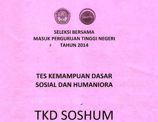 Download Soal SBMPTN 2014 TKD Soshum Kode 752