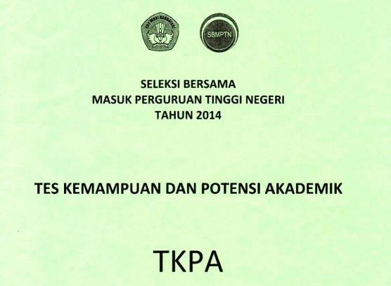 Download Soal SBMPTN 2014 TKPA Kode 652