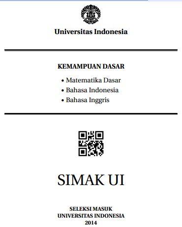Soal SIMAK UI 2014 Kemampuan Dasar Paket 2 Untuk Latihan