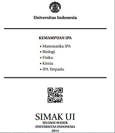 Soal SIMAK UI 2014 Kemampuan IPA Paket 1 Untuk Latihan