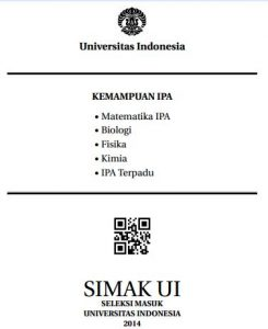 Soal SIMAK UI 2014 Kemampuan IPA Paket 2