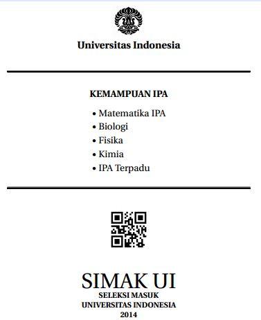 Soal SIMAK UI 2014 Kemampuan IPA Paket 2 Untuk Latihan